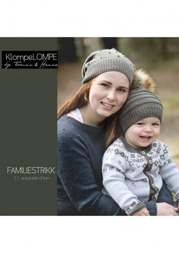 KlompeLompe Familjestrikk